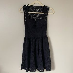 Charlotte Russe Black Lace Dress